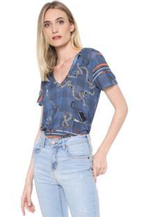 Camiseta Forum Correntes Azul