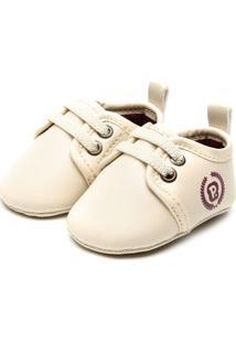 Sapato Pimpolho Menino Bege