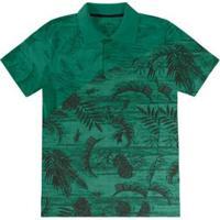 Camisa Polo Infantil Rovitex Masculina - Masculino-Verde 352f8c937797c