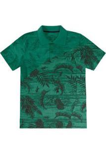 Camisa Polo Infantil Rovitex Masculina - Masculino-Verde 697dc5f0d706c