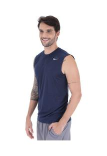 Camiseta Regata Nike Legend 2.0 Sl - Masculina - Azul Escuro