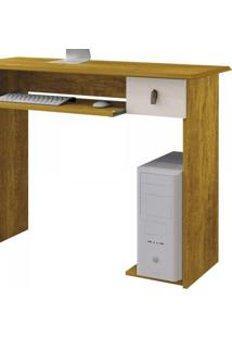 Mesa Para Computador Dalian Plus Mavaular Mel/Off White