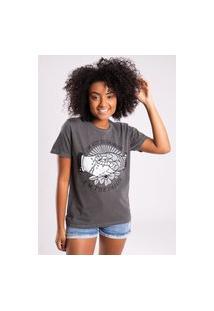 Camiseta Bossa Brasil Danger Preto Estonado