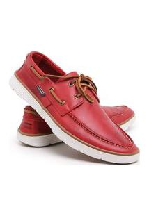 Sapato Masculino Social Mocassim Casual Dockside Da Moda Barato Confortavel Promoção Vermelho Pu Dk