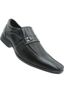 Sapato Social Bicarello Bkarellus Masculino - Masculino-Preto
