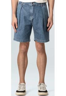 Bermuda Jeans E-Fabric Britt-Azul Medio - 36