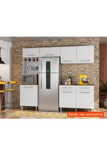 Cozinha Compacta Lorena 5 Pt Branco