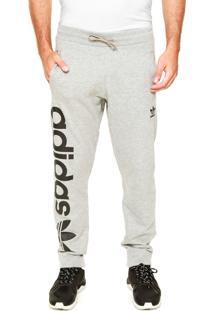 Calça Adidas Originals Trf Oh Cinza