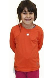 Camisa Infantil Manga Longa Kanxa Proteção Solar Uv50+ - Feminino
