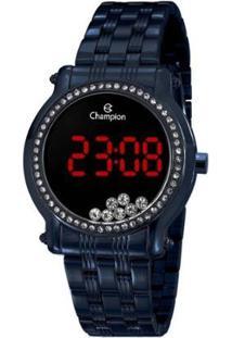 Relógio Champion Digital Ch48055A Feminino - Feminino-Azul