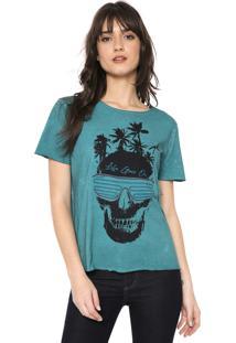 Camiseta Osmoze Caveira Verde