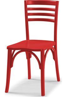 Cadeiras Para Cozinha Samara 83,5 Cm 911 Vermelho - Maxima