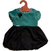 Vestido Veludo infantil  362493ad22c