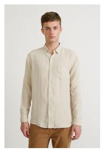 Camisa Ml Linho Paraiso