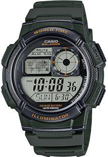Relógio Casio Digital Ae-1000W - Unissex