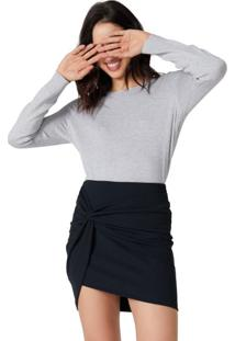 Suéter Oversize Decote U