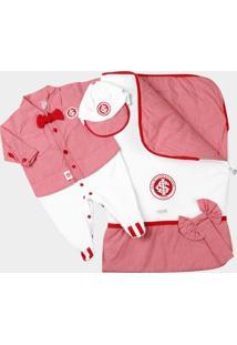 Kit Maternidade Internacional Bebê Suedine Camisa - Masculino