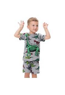 Pijama Infantil Masculino Kyly Meia Malha