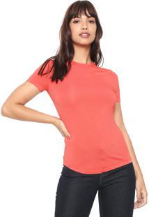 Camiseta Forum Lisa Coral