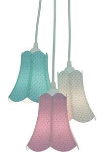 Lustre Crie Casa Pendente Cacho Paris Candy Colors