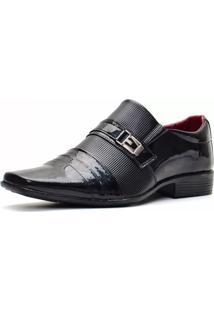 Sapato Social Bbt Footwear Envernizado Preto