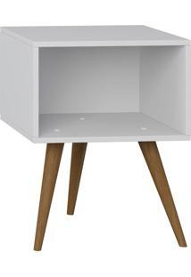 Mesa De Cabeceira Retrô – Be Mobiliário - Branco