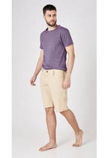 Bermuda Jeans Express Miguel - Masculino-Marrom
