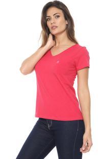 Camiseta Polo Wear Básica Pink