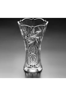 Vaso Pinwheel- Cristal- 30Xø16Cm- Rojemacrojemac