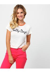 Camiseta Billabong Salty Daze - Feminino