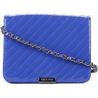ee85d99fb Bolsa Santa Lolla Mini Bag Verniz Feminina - Feminino-Azul
