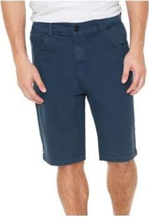 Bermuda Quiksilver Jeans Street Color Masculina - Masculino-Marinho