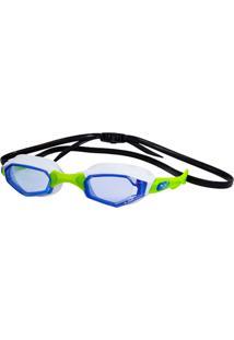 Óculos De Natação Hammerhead Solaris Azul/Branco/Verde