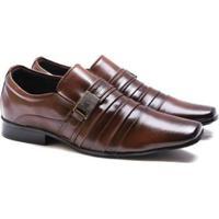 c59b53c6f Sapato Social Versales 70019 Masculino - Masculino-Marrom Claro