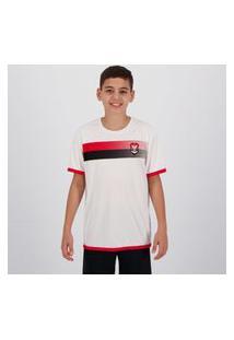 Camisa Flamengo Limb Infantil Branca