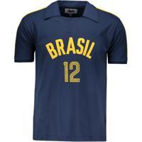 a151963f7b Camisa Brasil Vôlei Retrô Masculina - Masculino