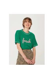 Camiseta Feminina Com Estampa Hering