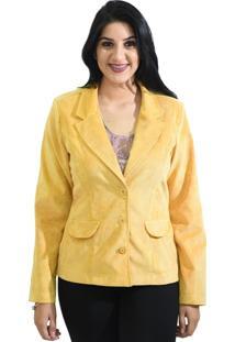 Blazer Energia Fashion Amarelo