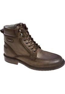 Bota Sandalo Social Vector Masculina - Masculino-Marrom