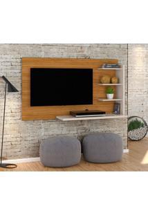 Painel Para Tv Até 42 Polegadas Júlia Naturale E Off White