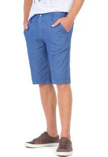 Bermuda Chino Índigo Azul Jeans