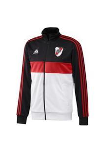 Jaqueta Adidas Casual River Plate Masculina - Preto, Vermelho E Branco