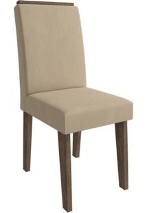 Cadeira Milena Com Moldura Caramelo Marrocos