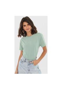 Camiseta Oh, Boy! Basic Verde
