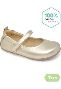 a3d688e6bc Sapatos Para Meninas Dourado Princesa infantil