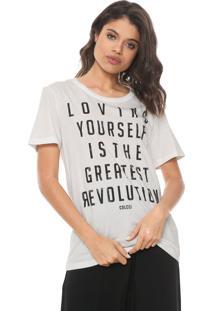 Camiseta Colcci Lettering