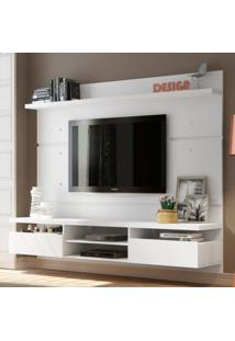 Painel Para Tv Até 50 Polegadas Live Branco 220 Cm