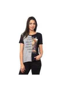 Camiseta Recorte Sock-P