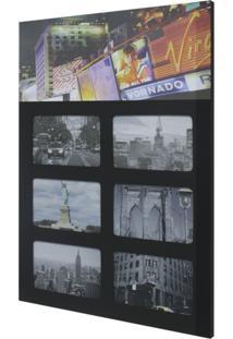 Painel De Fotos Downtown 36X52 6 Fotos 10X15 Kapos