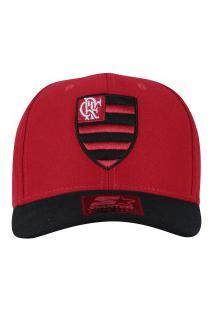 Boné Aba Curva Do Flamengo 6G Logo Bicolor 07 Starter - Snapback - Adulto -  Vermelho 973bebe639d
